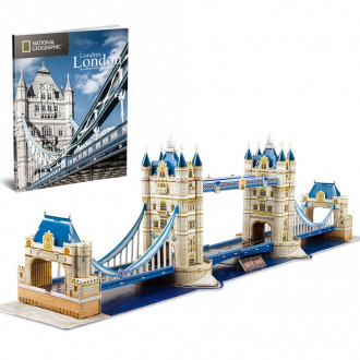 National Geographic - Tower Bridge 120pcs 3D Puzzle