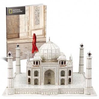 National Geographic - Taj Mahal 87pcs 3D Puzzle