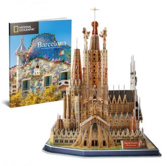 National Geographic - Sagrada Familia 184pcs 3D Puzzle