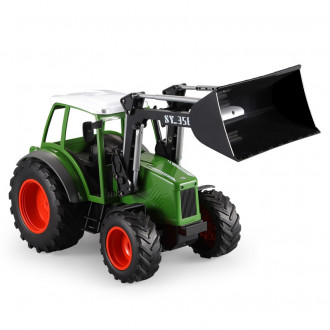 1/16 R/C Agricultural Tractor with Bucket (Battery & USB Charger)