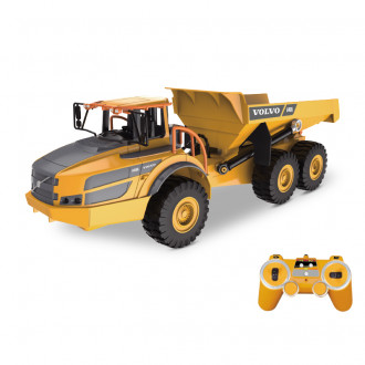 1/26 R/C Volvo Dump Truck with Battery & USB Charger