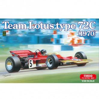 1/20 EBBRO Team Lotus Type 72C 1970