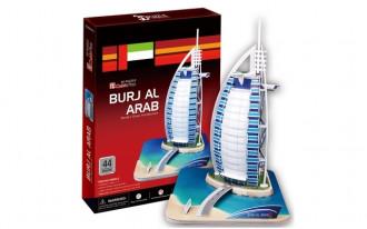 Burj Al Arab (Dubai) 44pcs 3D Puzzle