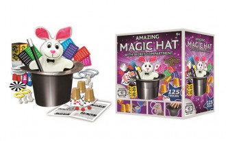 Amazing Magic Hat - 125 Tricks (Plush Rabbit)