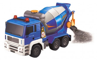 1/20 R/C Concrete Mixer with Battery & USB Charger