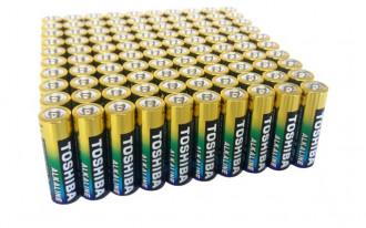 Toshiba AA High Power Alkaline Battery (Bulk)