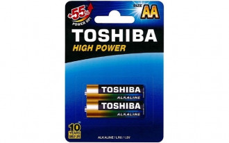 Toshiba AA High Power Alkaline Batteries (2)