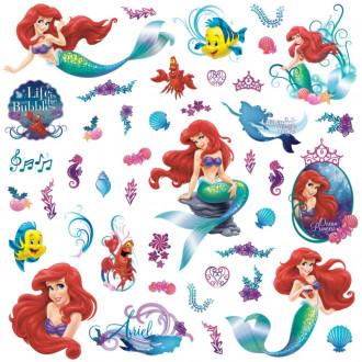 Little Mermaid Peel & Stick Wall Decals