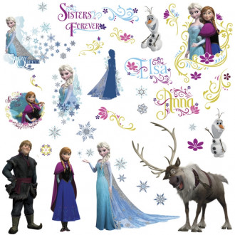 Frozen Peel & Stick Wall Decals