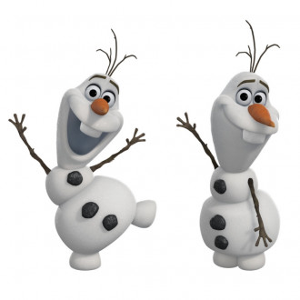 Frozen Olaf Peel & Stick Wall Decals
