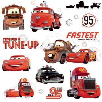 Cars Friends to the Finish Peel & Stick Wall Decal