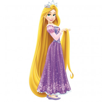 Tangled Peel & Stick Giant Wall Decals