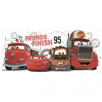 Cars 2 Peel & Stick Giant Wall Decals