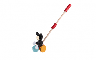 Disney Wooden Push Along - Mickey