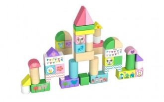 Disney Wooden Blocks - Minnie Mouse 50 pieces