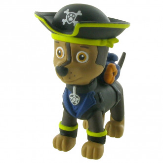 Paw Patrol Pirate Pups - Chase (6cm)