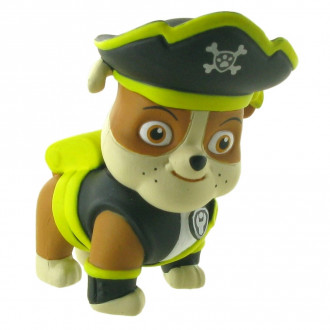 Paw Patrol Pirate Pups - Rubble (6cm)