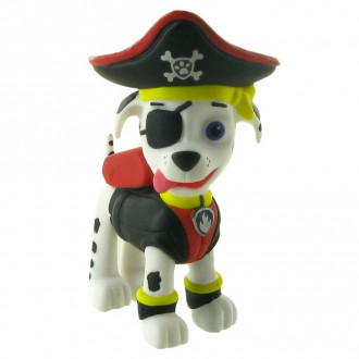 Paw Patrol Pirate Pups - Marshall (6cm)