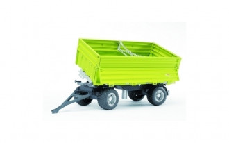 Fliegl Three Way Tipping Trailer with Removeable Top