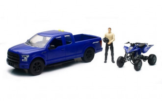 1/14 Ford F-150 with Quad Bike (Asst)
