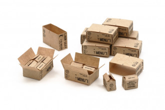 1/35 US 10-in-1 Ration Cartons (WWII)