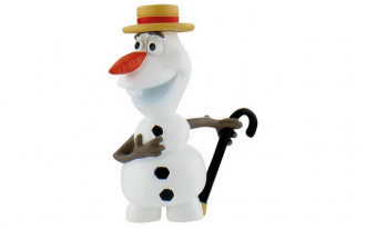 Frozen Fever - Olaf with Hat (5.5cm)