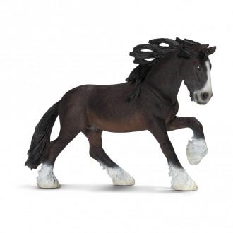 Farm World - Shire stallion (17cm Tall)