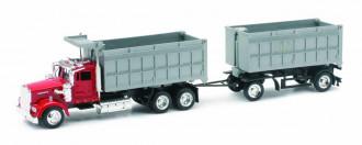 1/43 Kenworth W900 Twin Dump Truck