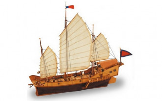 Artesania Latina - Red Dragon Chinese Junk Boat