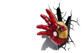 Classic Iron Man 3 Hand 3D Deco Light (22.23cm High)
