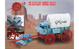 Artesania Latina - US 7th Cavalry Horse Coach