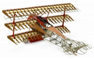 1/16 Fokker Dr.I Red Baron's Airplane