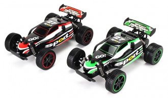 1/20 R/C High Speed Buggy - GO! with 3.6V Battery & USB Charger (2 Assorted)