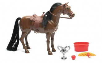 1/9 Valley Ranch Horse Set with sound (2 Asst)