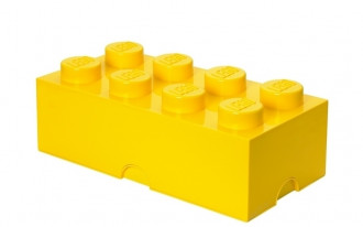 LEGO Storage Brick 8 Knob (50cm) - Yellow