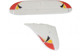 772B Sky Runner Vertical Tail Set