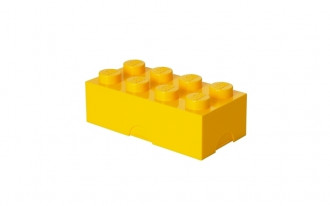 LEGO Lunch Box 8 Knob (20cm) - Yellow