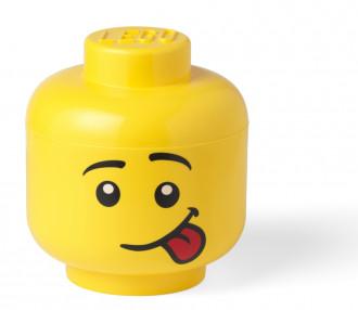 LEGO Storage Head (Small 16cm) - Silly