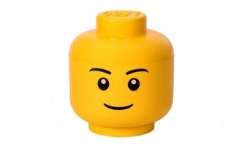 LEGO Storage Head Large (24cm) - Boy