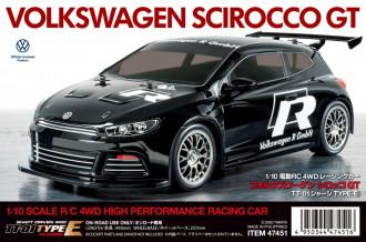 R/C 1/10 VW Scirocco GT (TT01E)