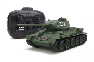 R/C 1/35 Russian Med Tank T-34-85 with Control Unit