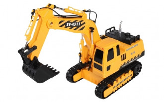 1/20 R/C Excavator with Battery & USB Charger