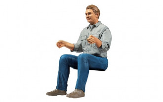 Driver Figure for 1/14 R/C Tractor Truck