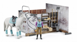 BWorld Horse Barn Set