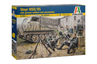 1/35 Steyr RSO/01 with German Soldiers & Accessories