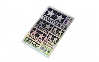 Tamiya Logo Stickers - Hologram