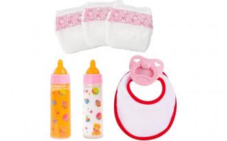 Piccolina New Born Baby Doll Accessories Set