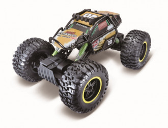 R/C Rock Crawler Pro 4-Wheel Steer with Battery & USB Charger - Length: 39cm