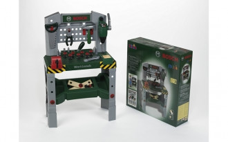 Bosch Workbench with sound & adjustable height