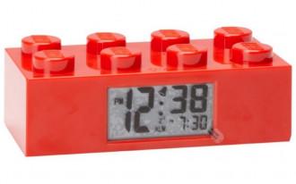 LEGO Brick Alarm Clock Red
